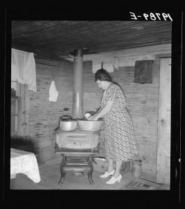 Corner-of-kitchen-in-tobacco-sharecroppers-home.-Person-County-North-Carolina-Dorothea-Lange-1939